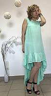 Платье Flirt бирюзовое