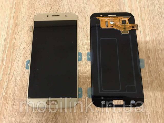 ПОСТУПЛЕНИЕ НОВЫХ ПОЗИЦИЙ!!! Дисплей Samsung A720F Black GH97-19723A оригинал!