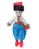 М'яка Іграшка Козак Хлопчик Остап 38 см Мягкая игрушка Мальчик Казак