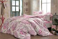 Двуспальное евро постельное белье TAC Bella Fusya Ранфорс