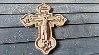 Крест деревянный. Иконы из дерева. Фрезеровка на станках с ЧПУ под заказ. Белая Церковь. Украина