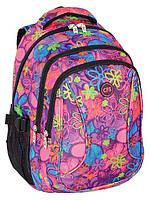 """Рюкзак для девочки подростка CF85671 """"Flowering"""""""