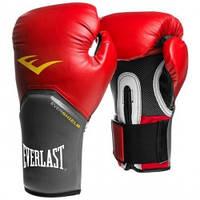 Тренировочные боксерские перчатки Everlast Pro Style Elite 10унц. красный, арт. 2110