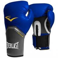 Тренировочные боксерские перчатки Everlast Pro Style Elite 12унц. синий, арт. 2212