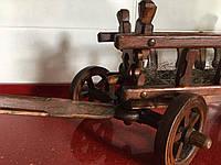 Дерев'яний віз сувенірний ручної роботи 91*28 см