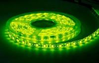 Светодиодная лента B-LED 24V 5050-60 G IP65 зеленая, герметичная, 1м