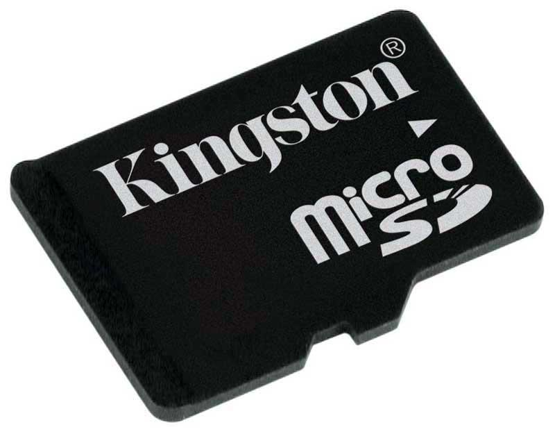 Карта памяти MicroSD 16 GB Kingston