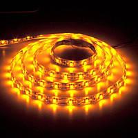 Светодиодная лента B-LED 24V 5050-60 Y IP65 желтая, герметичная, 1м