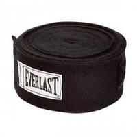 Бинт боксерский Everlast Hand Wraps 4,55 м. черный, арт.4456B