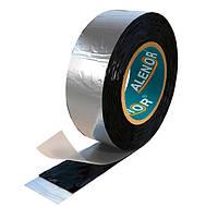Бутилкаучуковая лента ALENOR ® BF. Гидроизоляционная фольгированная. Для кровли и фасада. От производителя.