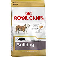 ROYAL CANIN BULLDOG 24 ADULT (АНГЛИЙСКИЙ БУЛЬДОГ ЭДАЛТ) корм для собак от 12 месяцев 12КГ