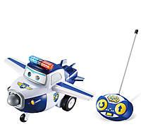 """Радиоуправляемая игрушка """"Супер крылья"""" -спасатель Пол BJ.BONG (PAUL) Super Wings"""" (на бат., свет, звук) , фото 1"""