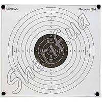"""Мишень 480х520 мм №4 """"Светлый круг"""" 00444"""