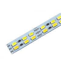 Светодиодная линейка 5730-144 W/WW 3-pin, 3500-6500K, 12V, IP20 теплый белый/белый