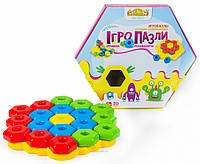 Развивающая игрушка Игро-Пазлы 20 элементов (39182)