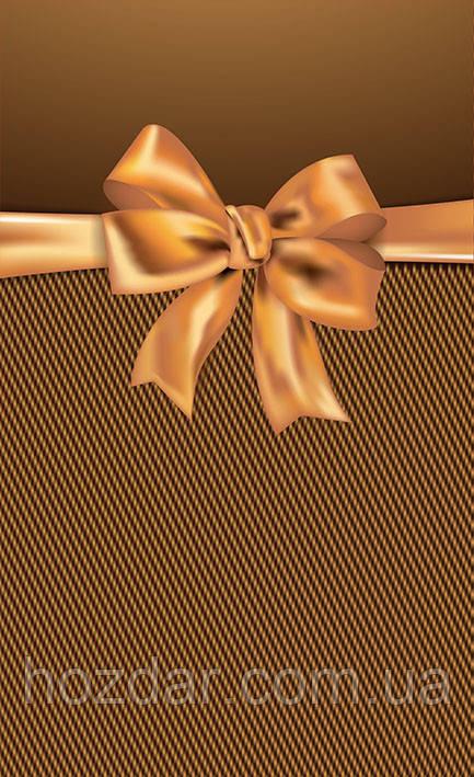 Пакет подарочный бумажный средний 16х25х7 (23-032)