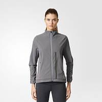 Спортивная женская куртка для бега adidas ULTRA AZ2887 - 2017