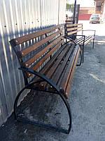 Лавочки, скамейки уличные (металл+дерево), доставка по Украине