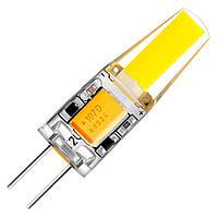 Лампа светодиодная BIOM G4-3,5W-12, AC220V, 3000К