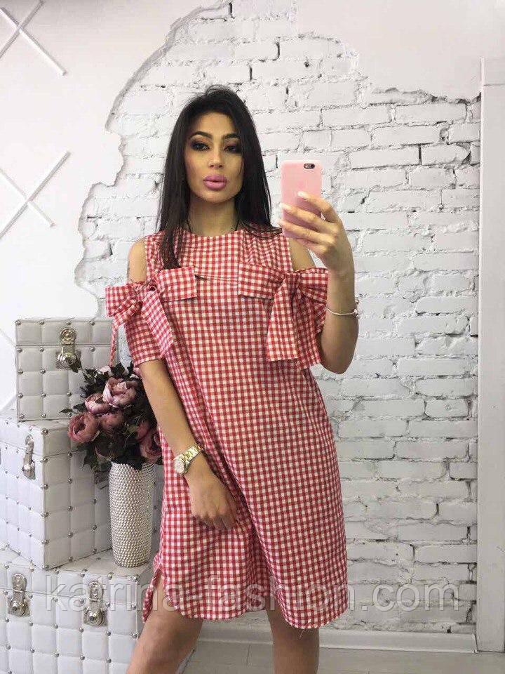 Женское красивое прямое платье (3 цвета)