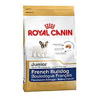 ROYAL CANIN FRENCH BULLDOG JUNIOR (ФРАНЦУЗCКИЙ БУЛЬДОГ ДЖУНИОР) корм для щенков до 12 месяцев 1КГ