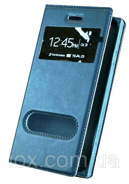 Синій чохол-книжка з функцією підставки для iPhone 6/6s