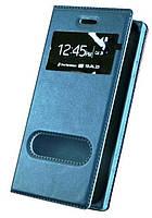 Синій чохол-книжка з функцією підставки для iPhone 6/6s, фото 1