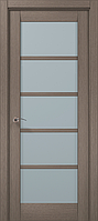 """Двери межкомнатные Папа Карло """"Milenium ML-15"""" дуб серый брашированный"""