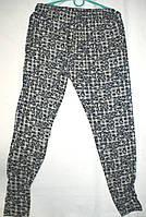 Штаны лосины летние женские трикотажные Хлопок 46-60 размеры