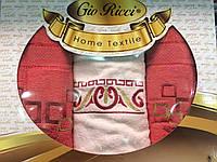 Набор махровых полотенец Gio Ricci 70х140 1шт, 50х90 2шт 100% Хлопок Турция
