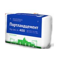 Цемент ПЦ-400 бело-синий мешок, 25кг