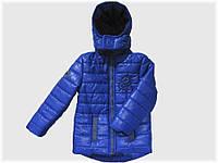 """Детская куртка """"Дракон"""" синяя для мальчика VITALIYA"""