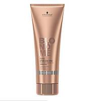 Бондинг-шампунь для холодных оттенков блонд BlondMe Tone Enhancing Bonding Shampoo Cool Blondes 250 ml