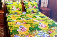Детское постельное белье полуторное комплект подростковый Смешарики