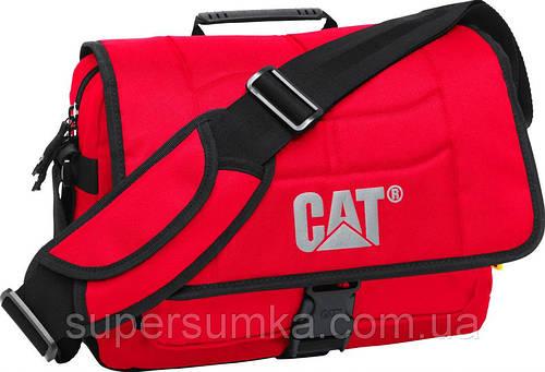 """Сумка почтальон с отделом для ноутбука 13,3"""" CAT Millennial 82942;146 красный"""