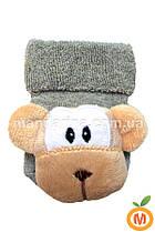 Носки с игрушкой-погремушкой, 0-6 мес
