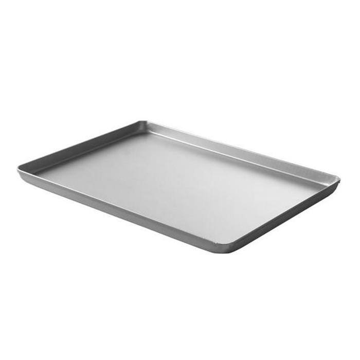 Піднос кондитерський для вітрин Hendi, срібний, 400x300x(H)20 мм