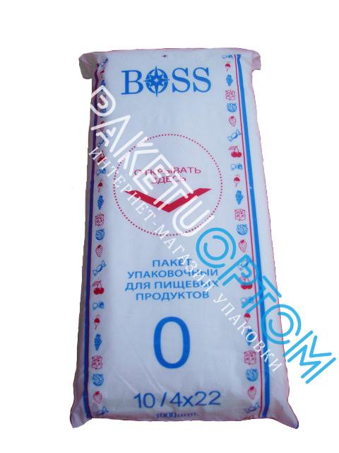 Полиэтиленовые упаковочные пакеты Boss 10/4х22 1000 штук