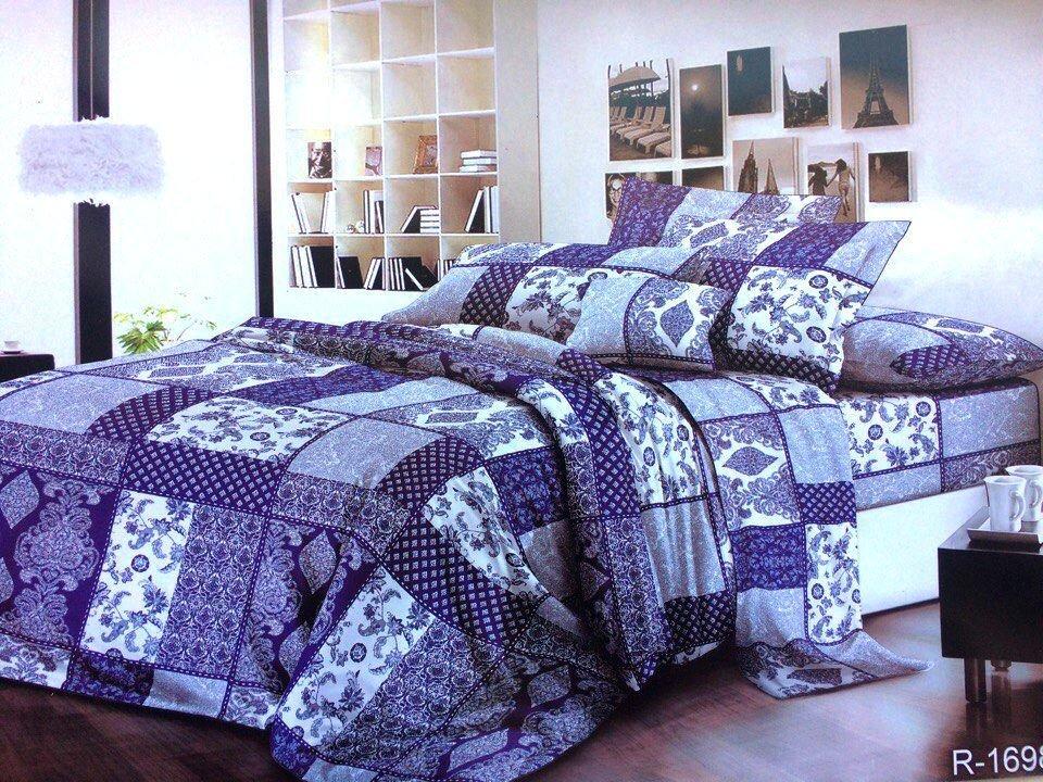 Двоспальний комплект постільної білизни Мозаїка