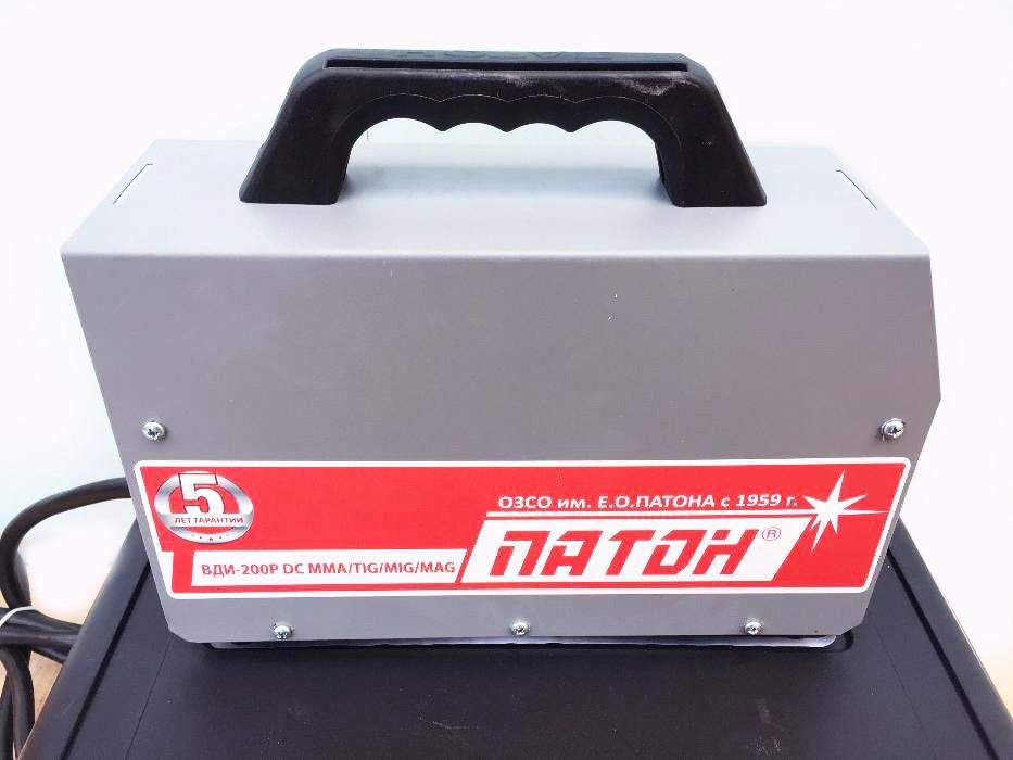 Сварочный инвертор Патон ВДИ 200P DC