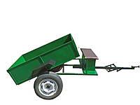Прицеп-самосвал(стандарт) с ленточными тормозами под жигулёвскую ступицу (1150Х1400)    БЕЗ КОЛЕС (БУЛАТ)