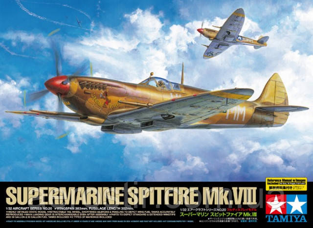 Supermarine SPITFIRE Mk.VIII 1/32 TAMIYA 60320