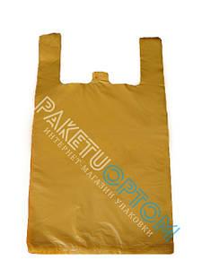 Полиэтиленовые пакеты майка без рисунка 30х50