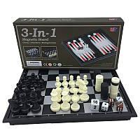 Шахматы шашки нарды 3 в 1 , размер 20*20