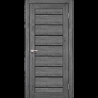 Дверь межкомнатная PIANO DELUXE дуб марсала сатин бронза