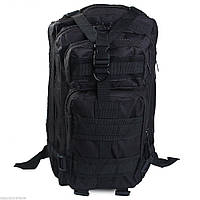 Тактический штурмовой военный рюкзак 25л портфель черный