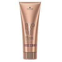 Бондинг-шампунь для теплых оттенков блонд BlondMe Tone Enhancing Bonding Shampoo Warm Blondes 250 ml