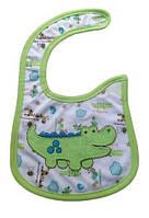 Слюнявчик Carter´s Зеленый крокодил Оптом