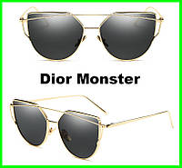 Солнцезащитные женские очки Dior Monster. ХИТ продаж 2017 года !