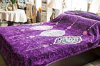 Плед - покрывало Karaca Home - Buena фиолетовое 220х240